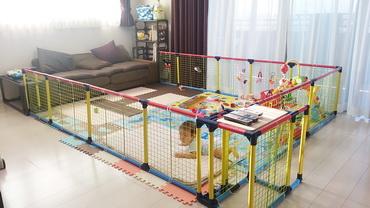 赤ちゃんサークルフェンス01