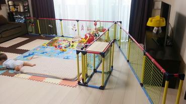 赤ちゃんサークルフェンス02