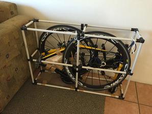 バイク輸送用保護フレーム01
