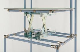 昇降セル作業台(昇降ユニット式)