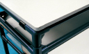 メラミン合板+緑テープ処理
