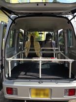 ワゴン車用ベッド&ラック02