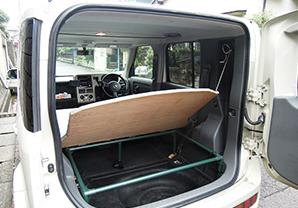 ワゴン車用ベッド&ラック01